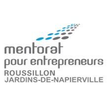 Logo Mentorat pour entrepreneurs Roussillon Jardins-de-Napierville